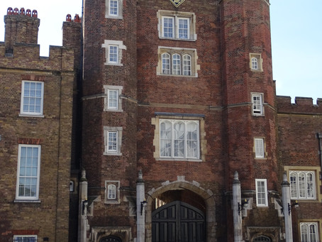 Getting inside St James' Palace