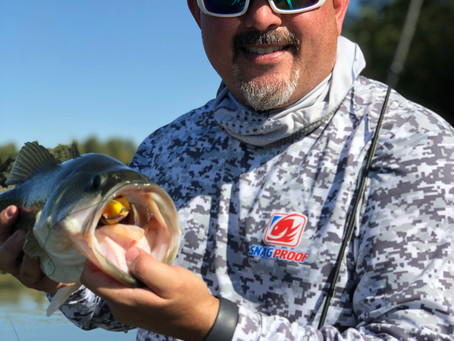 A trophy Striper Hunt that turned into a bass smackdown!