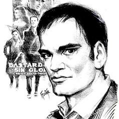 Retrato tinta - Quentin Tarantino