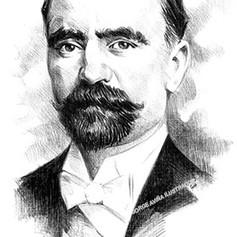 Retrato tinta - Francisco I. Madero