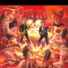 Hexenizer - Arte para disco (Alemania)