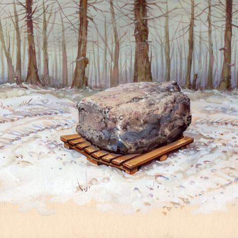 Ilustraciones desarrolladas para exposición temporal en el Museo Vincent van Gogh en Holanda