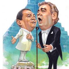 Armando Manzanero y Placido Domingo