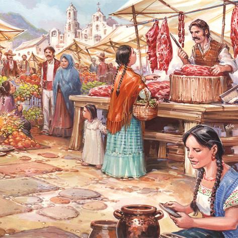 Mercado viejito - Revista de alimentos USA