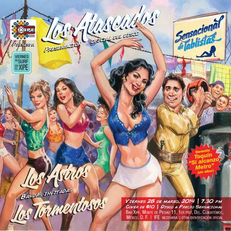 Los Atascados - Portada de disco