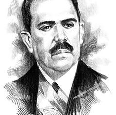 Retrato tinta - Lázaro Cárdenas