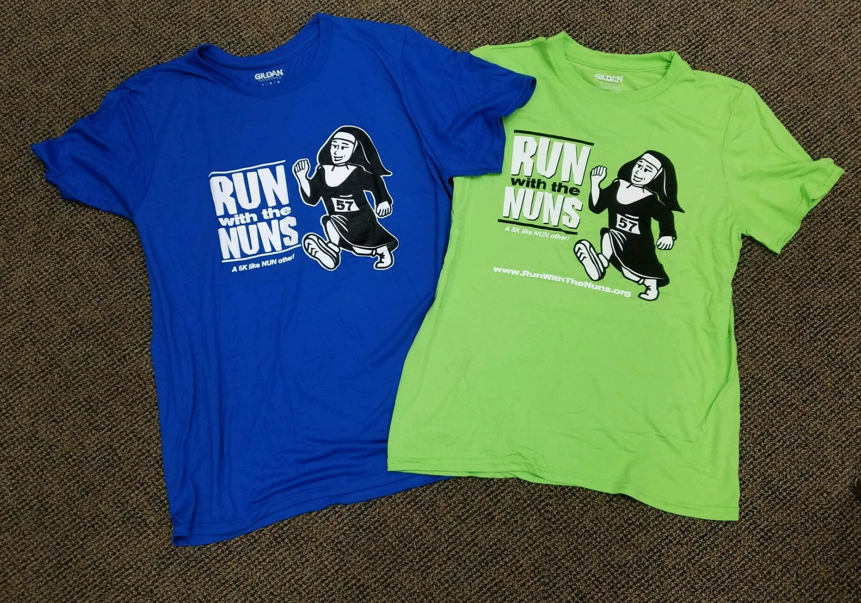 5K shirts 2017