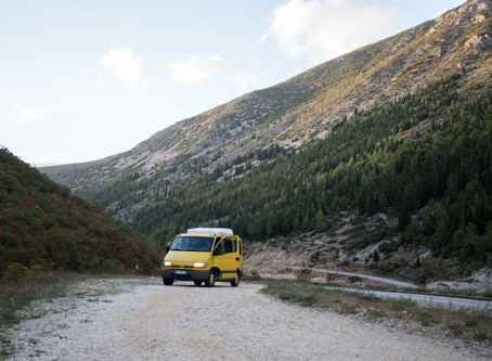 Roadtrip en van : follow the Balkans