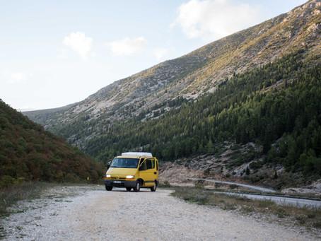 Roadtrip en van : follow the Balkans