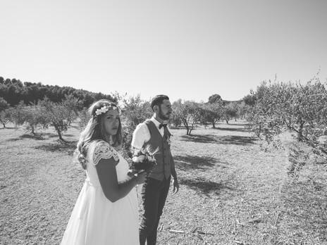 Marion & Clement, un mariage à Lauris