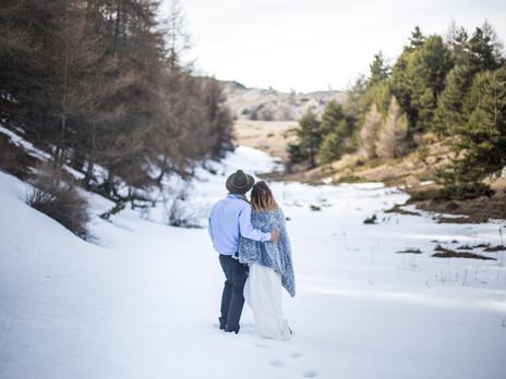 Célia & Vincent - Échappée dans les Alpes