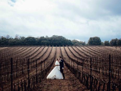 Mariage d'hiver, Laetitia et Sylvain