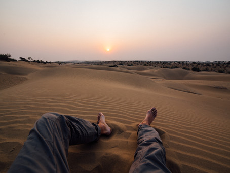Une nuit dans le désert en Inde
