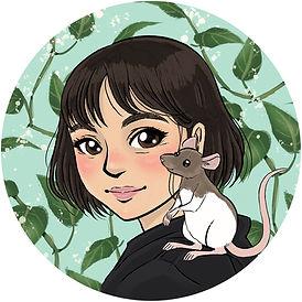 self portrat 2021 Greenery Circle web.jp