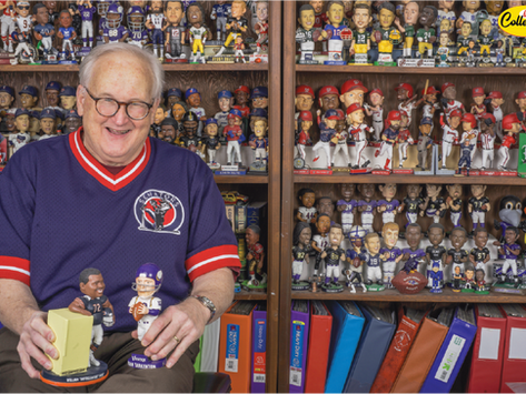 Bobbleheads! One local man's collection will make your head spin