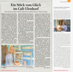 2 Zeitungsartikel über unser Café