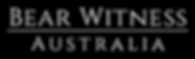 Bear Witness Australia Logo