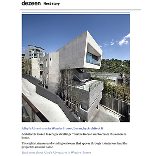 architect k_Songdo House_Dezeen_아키텍케이_송도