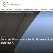 Songdo House is Featured in Cann Design.
