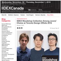 Kichul Lee & Doosu Shin is Introdued by IIDEXCanada
