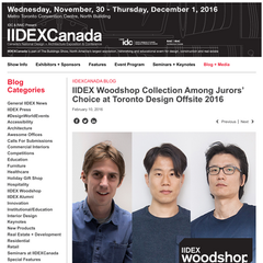 Kichul Lee & Doosu Shin is Introdued by IIDEXCanada