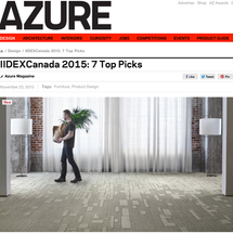 Chair-W is Featured in Azure Magazine