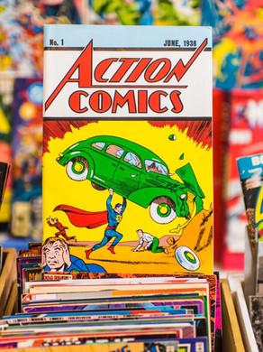 A era de ouro dos quadrinhos