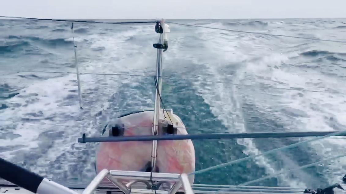 Figaro 3 en mer d'iroise