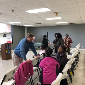 Brophy attends meet-and-greet in University Park