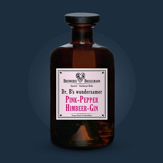 Dr. B's wundersamer Pink-Pepper Himbeer-Gin