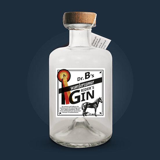 Dr. B's wundersamer Rider's Gin 0,5l - 43% vol