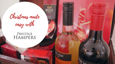 Christmas made easy with Prestige Hampers