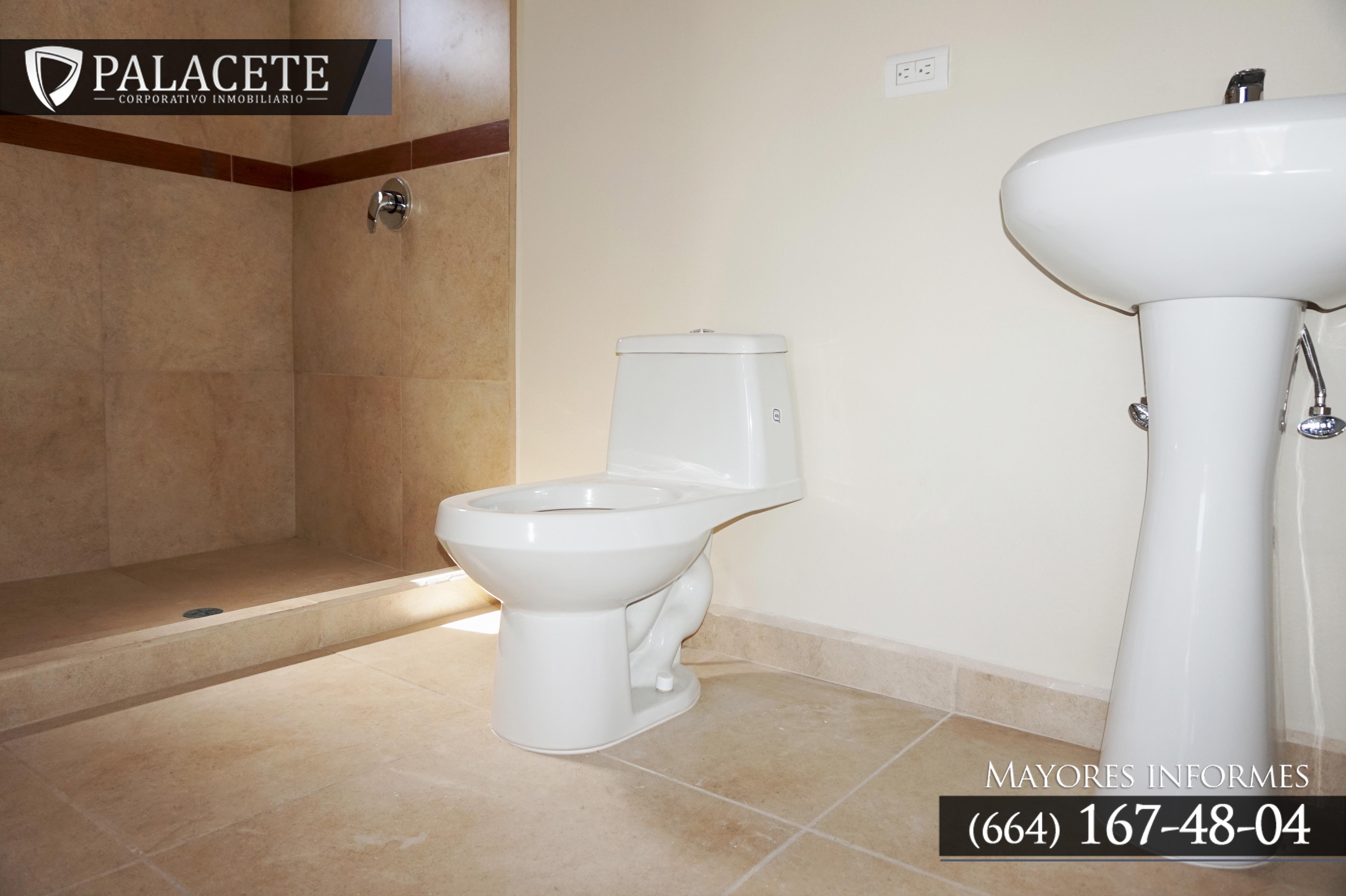 Dos baños y medio