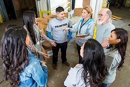 Teacher Treasures volunteers