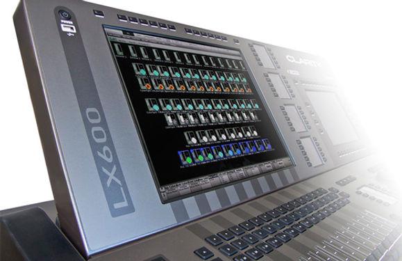 Lichtpult LSC Clarity LX600