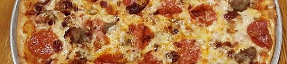 Thin Crust Homemade Pizza