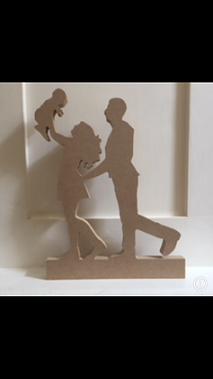 Family Silhouettes - Various Options