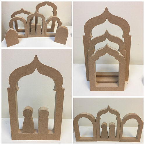 Hollow Mosque / Islamic Door Shapes