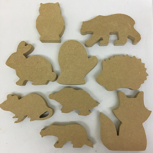 The Mitten Character Set