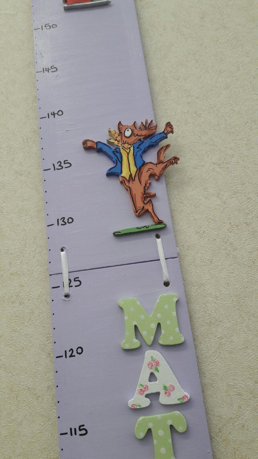 Roald Dahl themed Height chart