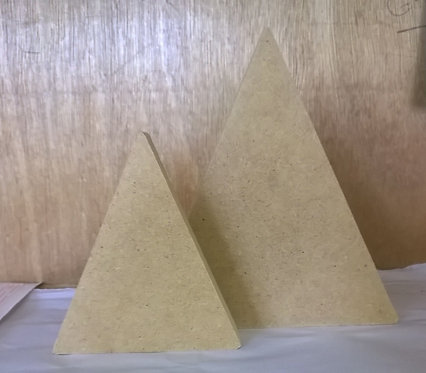 Pair of Mountains (Triangles)