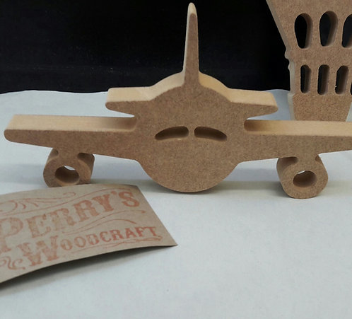 Airplane (Front view)