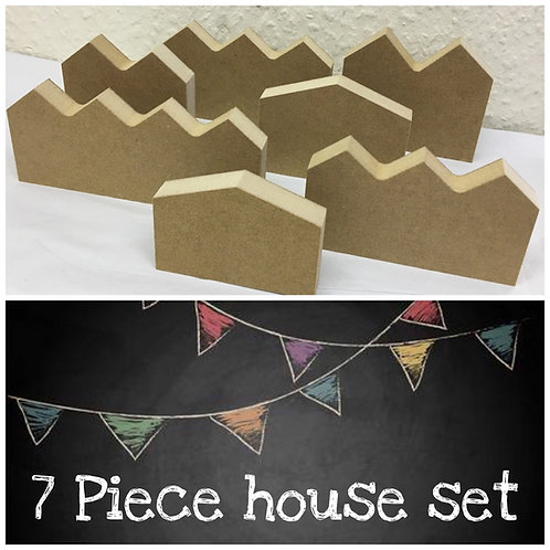 7 Piece house / Street set