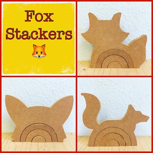 Fox Rainbow Stackers - 3 Options