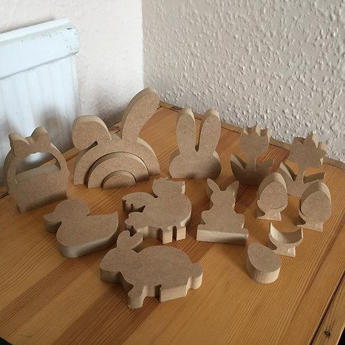 Mini set EASTER Shapes