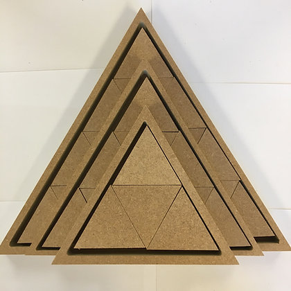 Stacking / Nesting Pyramid Triangle Sets