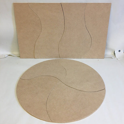 4 Part Flat Lay / Play Boards