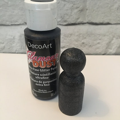 Deco Art Glamour Dust Black Ice