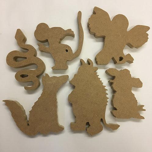 Gruffalo Character Set