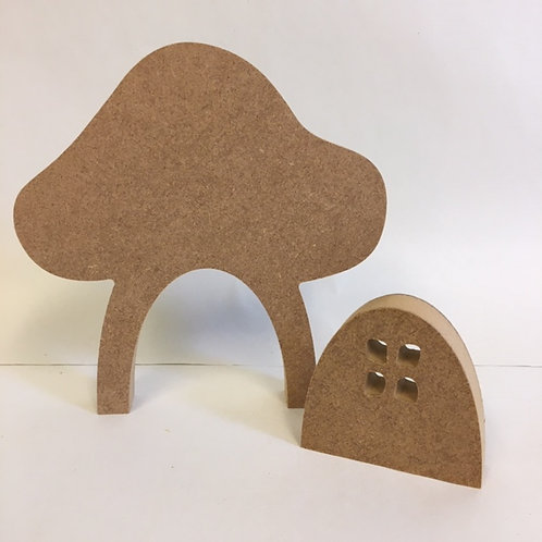 Small Toadstool with Door
